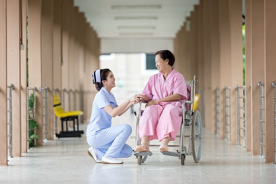 Various types of nurses